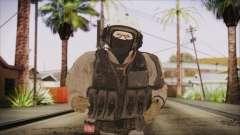 XOF Soldier (Metal Gear Solid V Ground Zeroes) para GTA San Andreas