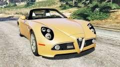Alfa Romeo 8C Spider 2012