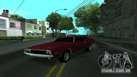 Dodge Challenger Tunable para GTA San Andreas