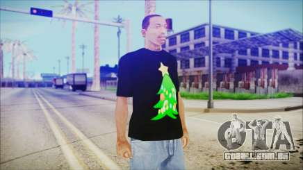 T-Shirt Christmas Tree para GTA San Andreas