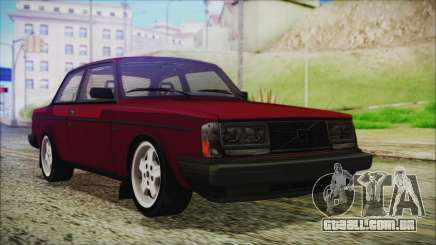 Volvo Turbo 242 Evolution Turbo 1983 para GTA San Andreas