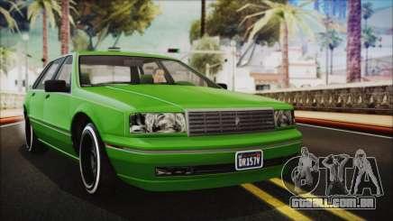 GTA 5 Albany Primo Custom No Interior IVF para GTA San Andreas