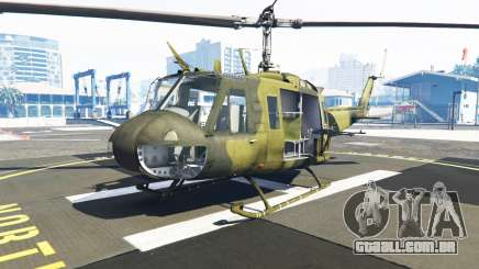 Bell UH-1D Huey Bundeswehr para GTA 5