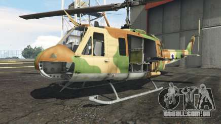 Bell UH-1D Israeli Air Force para GTA 5