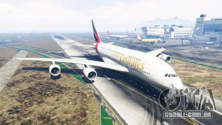 Airbus A380-800 para GTA 5