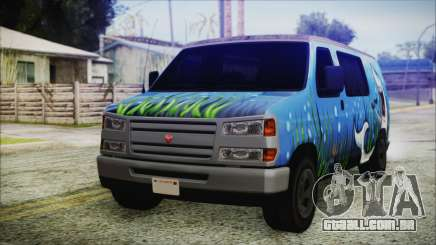 GTA 5 Bravado Paradise Shark Artwork para GTA San Andreas