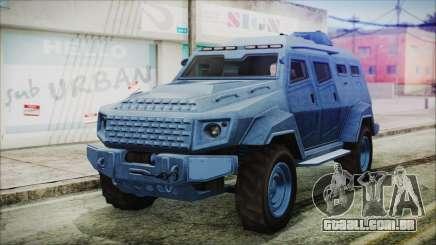 GTA 5 HVY Insurgent Van IVF para GTA San Andreas