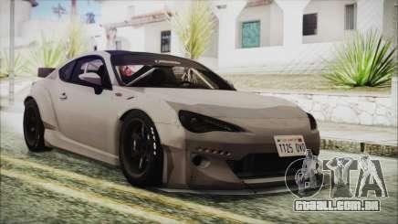 Toyota GT86 Rocket Bunny Tunable HQLM para GTA San Andreas