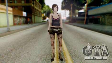 Fatal Frame 4 Misaki Punk Outfit para GTA San Andreas segunda tela