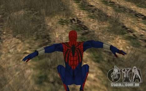 O sensacional Homem-Aranha, Ben Reilly por Robin para GTA San Andreas quinto tela