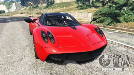 Pagani Huayra 2013 v1.1 [black and red rims] para GTA 5