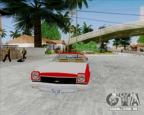 Chevrolet El Camino My Name is Earl v1.0 para GTA San Andreas