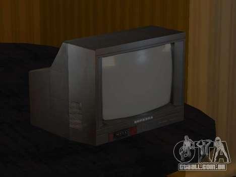 TV de bétula 37ТЦ-5141Д para GTA San Andreas