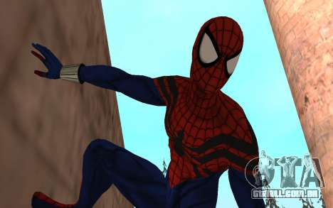 O sensacional Homem-Aranha, Ben Reilly por Robin para GTA San Andreas