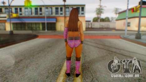 Layla WWE para GTA San Andreas terceira tela
