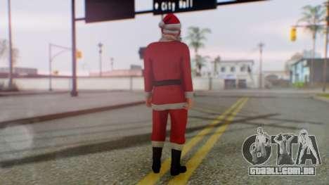 GTA Online Festive Surprise Skin 2 para GTA San Andreas terceira tela