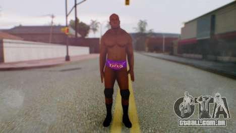 Titus ONeil para GTA San Andreas segunda tela