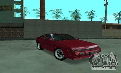 Mitsubishi Starion ECI-R para GTA San Andreas