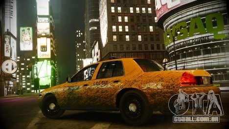 Ford Crown Victoria L.C.C Taxi para GTA 4 vista de volta