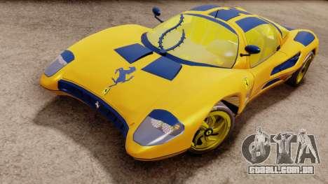 Ferrari P7 Gold para GTA San Andreas