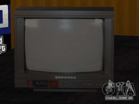 TV de bétula 37ТЦ-5141Д para GTA San Andreas segunda tela