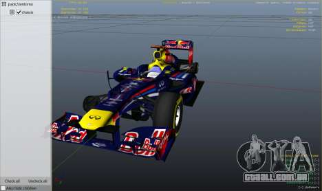 Roda GTA 5 Red Bull F1 v2 redux
