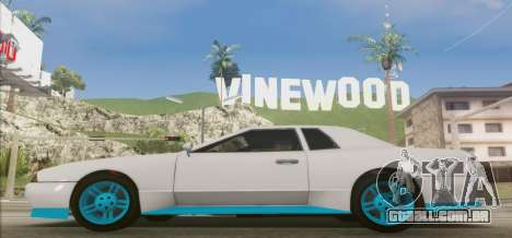 Elegy DRIFT KING GT-1 [2.0] (New wheels) para GTA San Andreas esquerda vista