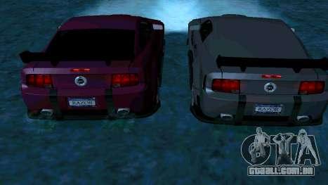 Ford Mustang GT para o motor de GTA San Andreas