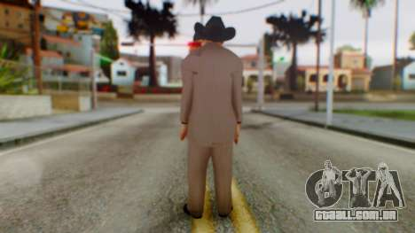 WWE Jim Ross para GTA San Andreas terceira tela