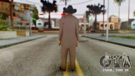 WWE Jim Ross para GTA San Andreas terceira tela