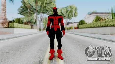 Spider-Man Shattered Dimensions - Deadpool para GTA San Andreas segunda tela