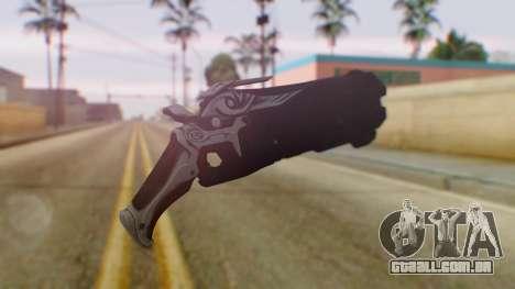 Reaper Weapon - Overwatch para GTA San Andreas segunda tela