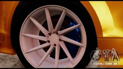 Audi TT RS para GTA San Andreas traseira esquerda vista