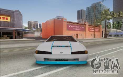 Elegy DRIFT KING GT-1 [2.0] (New wheels) para GTA San Andreas traseira esquerda vista