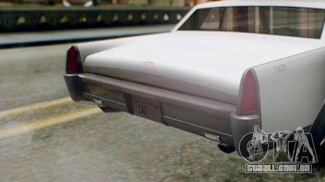 GTA 5 Vapid Chino Tunable IVF PJ para GTA San Andreas vista traseira
