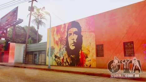 Che Guevara Grove Street para GTA San Andreas terceira tela