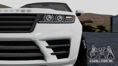 GTA 5 Gallivanter Baller LE LWB Arm IVF para GTA San Andreas vista direita