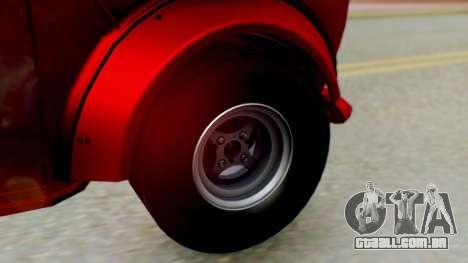 Mini Miglia para GTA San Andreas traseira esquerda vista