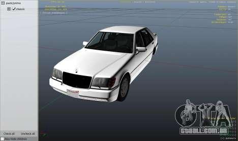 Mercedes-Benz S600 v1.1 para GTA 5
