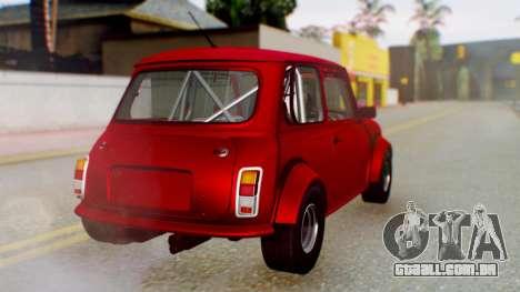 Mini Miglia para GTA San Andreas esquerda vista