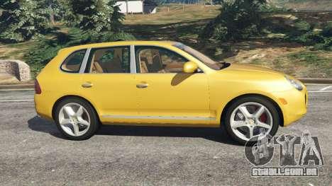 Porsche Cayenne Turbo 2003 para GTA 5