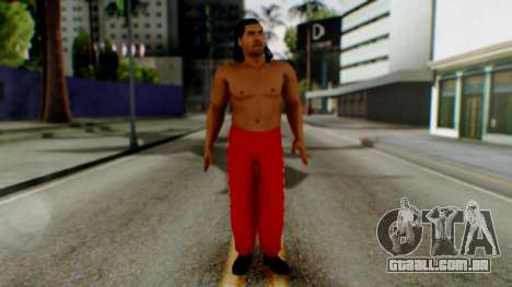 The Great Khali para GTA San Andreas segunda tela