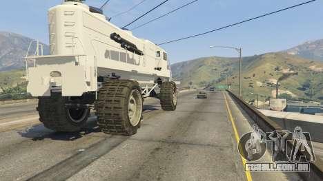 GTA 5 Monster Train volante