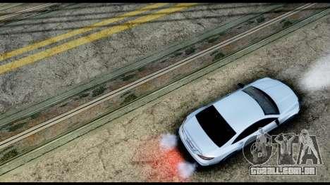 New HD Roads para GTA San Andreas por diante tela