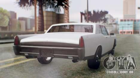 GTA 5 Vapid Chino Tunable IVF PJ para GTA San Andreas esquerda vista