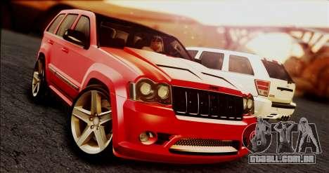 Jeep Grand Cherokee SRT8 Final version para GTA San Andreas