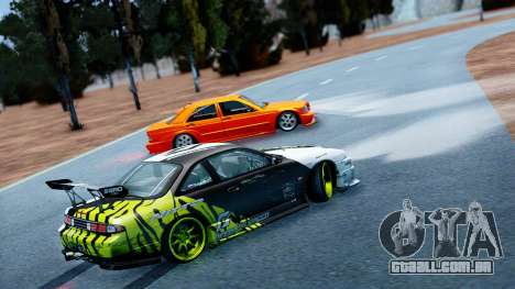 KAM1KAZE Drift Track Map para GTA San Andreas terceira tela