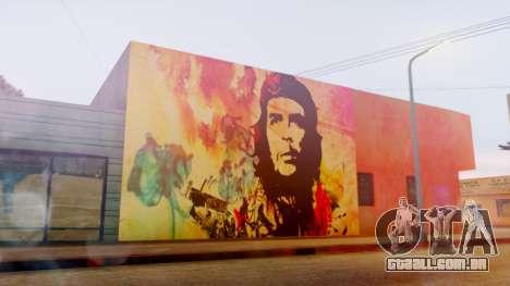 Che Guevara Grove Street para GTA San Andreas segunda tela