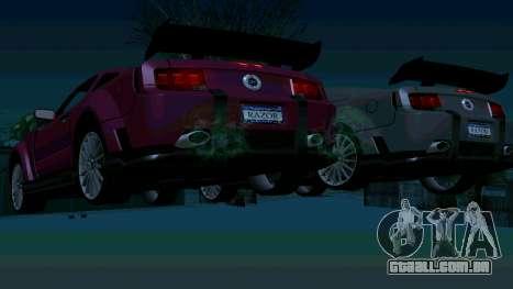 Ford Mustang GT para as rodas de GTA San Andreas
