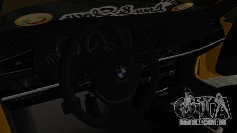 BMW 750Li M Sport para GTA San Andreas vista direita
